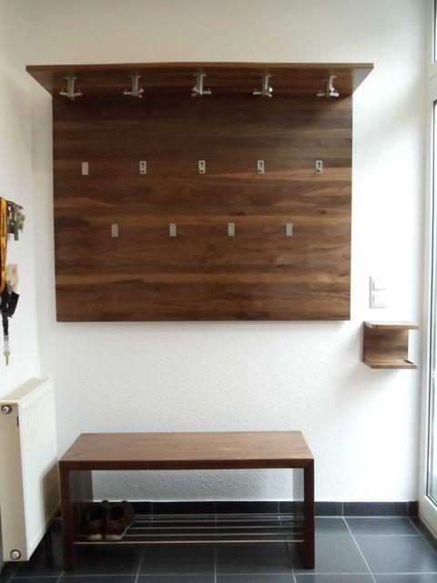 einige fotos der von uns gebauten garderoben f r sie zusammengestellt. Black Bedroom Furniture Sets. Home Design Ideas