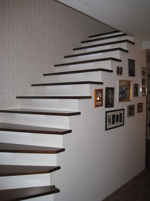 treppenstufen holz betontreppe. Black Bedroom Furniture Sets. Home Design Ideas